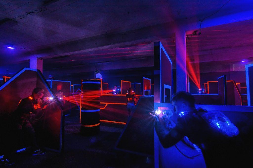 lasertag laserplex lasertag arena d sseldorf. Black Bedroom Furniture Sets. Home Design Ideas